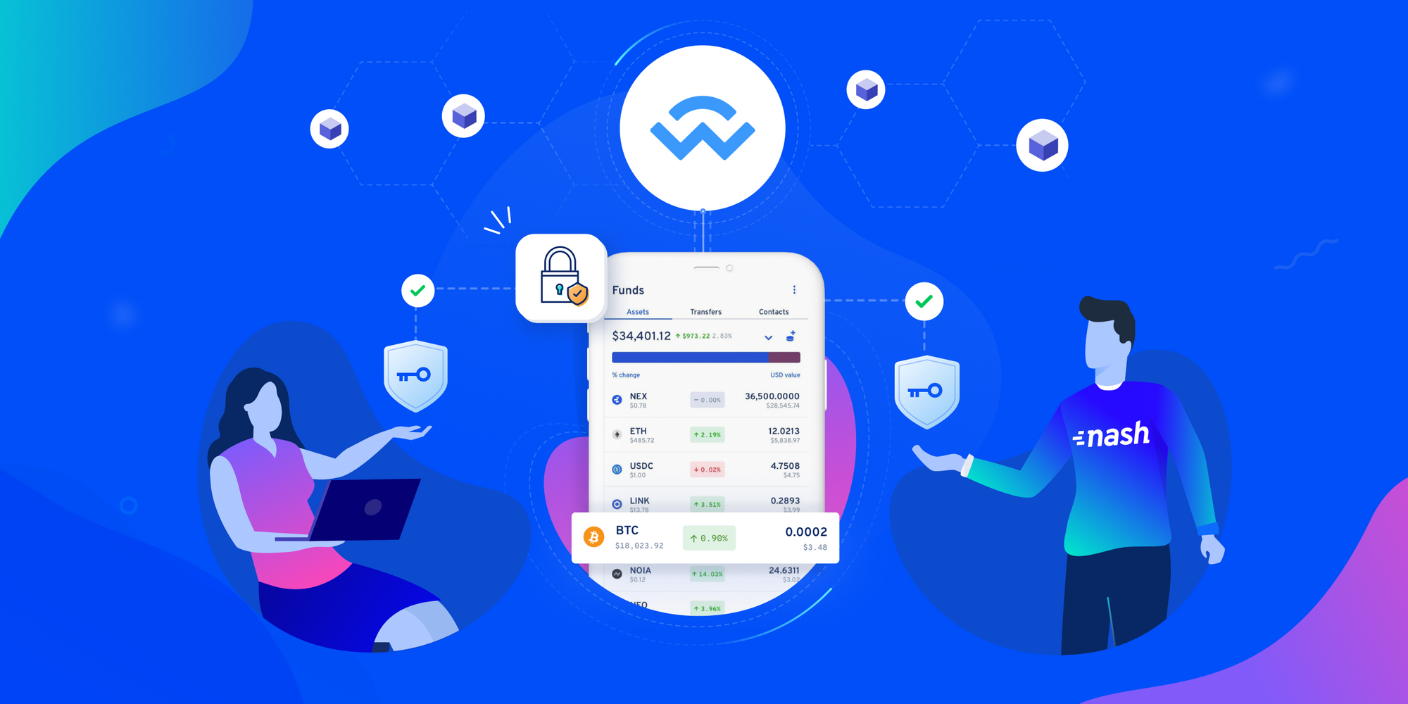 The safest way to connect to dapps: Non-custodial mobile wallets with MPC!
