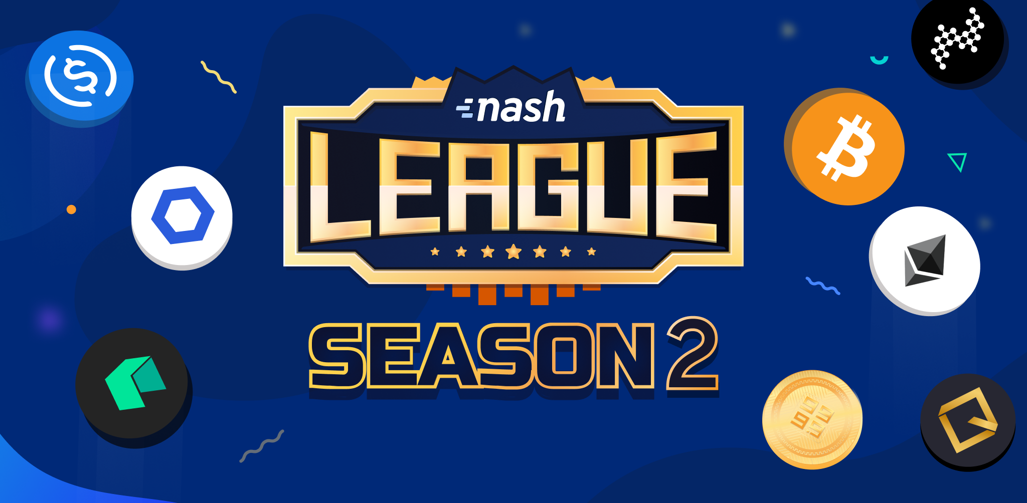 Nash League Season 2: $10,000 new prizes for $10M volume!