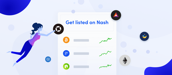 Apply for a token listing on Nash