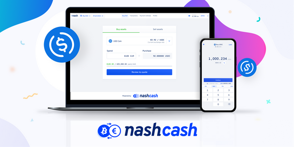 Nash Cash is now live in Europe!
