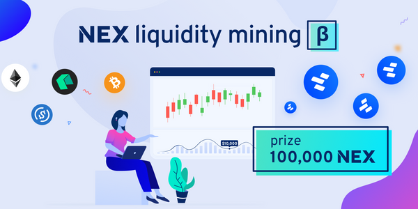 Liquidity mining beta: 100,000 NEX are up for grabs